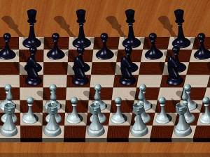 Chess_Single_Image_Stereogram_by_3Dimka_Autostéréogramme d'échecs
